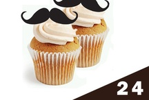 Moustache toppers