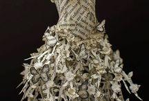 sukienki zpapieru