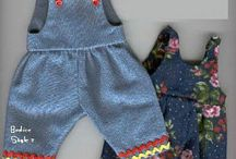 Doll and cloths