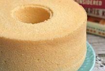 Sponge | Chiffon | Ogura Cakes
