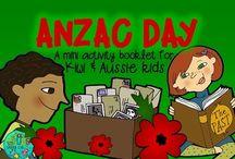 NZ Resources & Activities / Teaching resources on New Zealand topics. Anzac Day, Waitangi Day, Maori culture etc.