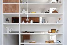 shelfs/cabinets/storage
