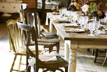 Farm Table Styling / Secret Boards are a designer's dream! We use these secret boards behind the scenes when we are creating an event. Here are few pins from an event we recently did! Enjoy! ~Tiffany