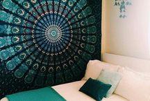 Bedrooms boho