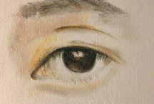 My Drawings (Love eyes) / Drawing