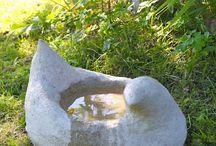 Concrete Planters, Bird baths & Tiles etc...