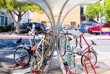 Bike racks / Creative bike racks