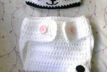 Bebe crochet recien nacido