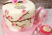 Çiçekli pastalar