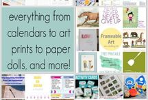 PRINTABLES / Lots of printables, some free. / by Ann Johnston
