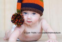 Lasten neuleet 2 pipot/hatut