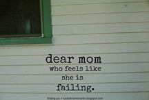For mom's: Inspiration