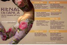 Eventos de Dança em Florianopolis /  Um acervo de materiais produzidos para eventos relacionados a dança em Florianópolis