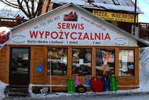 Wypożyczalnia nart w Zieleńcu / http://www.ski-raft.pl/wypozyczalnia-nart-zieleniec.html