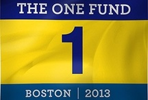 Remember Boston 2013 / A board dedicated to the 2013 Boston Marathon.