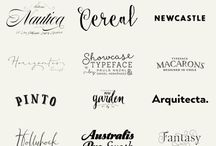 Fonts / Logotype