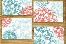 Floral Wall Art Prints