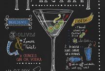 Chalkboards cocktail
