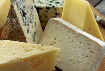 Kaas / Kaasplankjes, gerechten met kaas