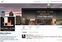 Custom Branded Twitter Page / Examples of Twitter pages we have creating custom branding for.