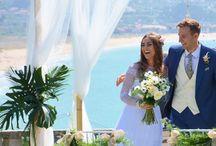 Our Tropical Beach Wedding