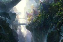 Fantasy places / Fantasy dream places