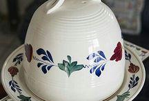 Boerenbont serviesgoed 483a  regout en Royal sfinx / bijzondere voorwerpen nog niet in eigen verzameling