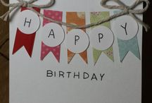DIY CARDS / Birthday cards etc.