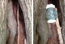 Geocaching Hides / Creative places to stash your cache.