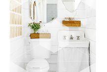 White is the color! / Diseños de baños en blanco. Decoración del mismo tono.