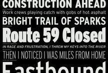 Interstate typeface