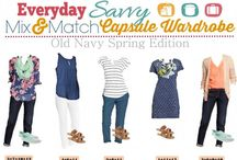 Capsule Wardrobe Ideas / by Brittney Sproles