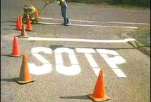 Funny / Lost in translation road signs and other funny things