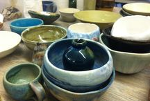 Ceramics / Handbuilding, throwing, mould making, casting, everything clay related happening at Richmond Art School.