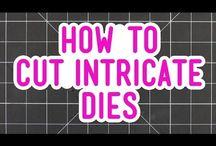 How to cut intricate die cuts