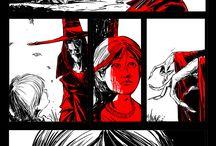 Horror comics ...soggetti x tavole autoconclusive