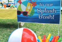 Serena splash birthday