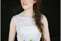*hair flowers* the flower farm / Hair flowers for weddings created by The Flower Farm in Lancashire.