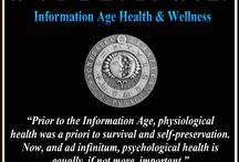 Information Age Wellness /  Information Age Wellness is the practice and study of how Information and Communications Technology (ICT) influences physical, psychological, perceptual and spiritual well-being. By incorporating safe and productive knowledge and practices, citizens of the Information Age are safe from cyber attacks and able to focus on mind, body & spiritual optimization endeavors. Information Age Wellness incorporates mind, body, spirit and ICT for those seeking a healthy lifestyle.