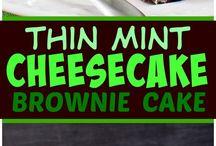 cheescake menthe chocolat