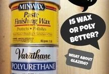 Waxes and varnishes