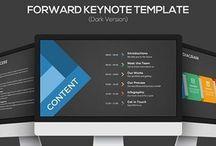 Dark Keynote Presentation Slide
