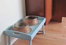 Pet bowls / Great ideas for pet bowls