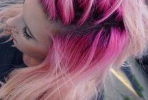 Bunte Haare