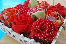 Pokopanno / Flores de tecido. Integração da natureza com a arte