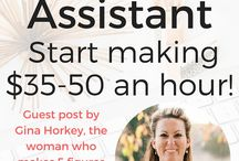 How to Work at Home / Work at home, Virtual Assistant, How to work from home, make money online, make money at home, stay at home mom, earn side income, earn extra income