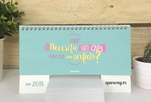 Calendarios y Plannings Qué Way! 2018