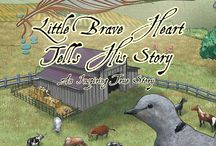 Little Brave Heart Tells His Story / A must read for the whole family. A very brave dove tells his own inspiring true story about his journey to recovery after a near death injury.