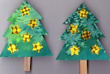 PROSINEC ve škole / Advent, Mikuláš, čert, anděl, VÁNOCE, výrobky na vánoční jarmark ...