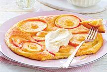 Pfannkuchen und Omelettes